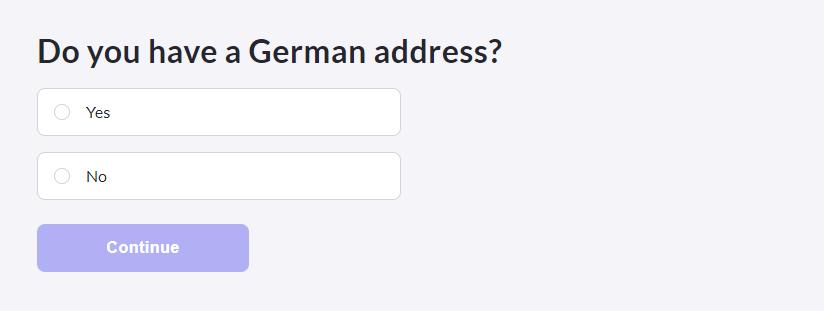 TK 保險註冊流程 是否擁有德國地址