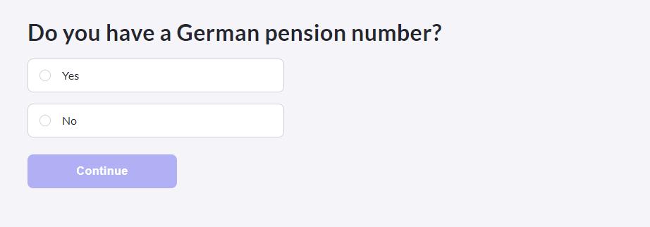 TK 公保線上申請 德國退休金號碼