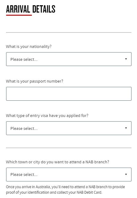 澳洲銀行開戶 申請人資訊